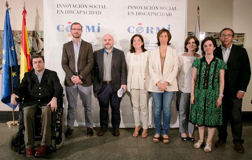 Javier Maroto, nuevo vicesecretario de Sectorial del PP, se reúne con el CERMI