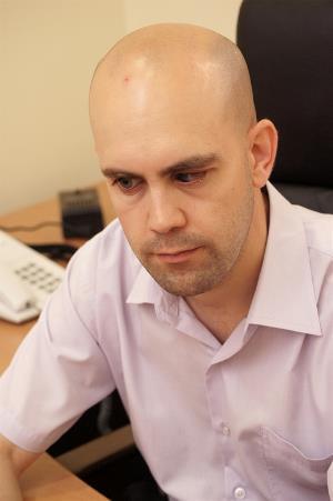 Francisco Gallego, presidente de la Comisión de Juventud del CERMI