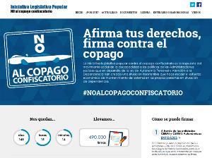 Contabilizadas 490.000 firmas de apoyo a la ILP contra el copago en dependencia