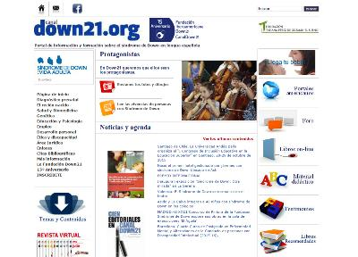 Imagen de la web 'Down 21'