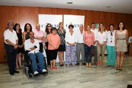Los derechos de las personas con discapacidad centran la reunión de Violante Tomás con el CERMI Región de Murcia