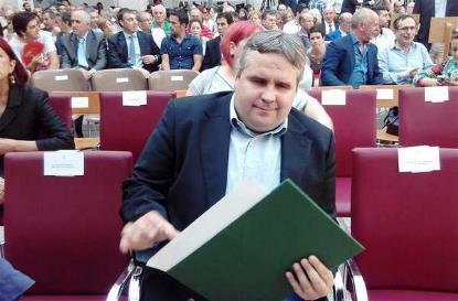 Alberto Bolado, diputado de Podemos en Cantabria