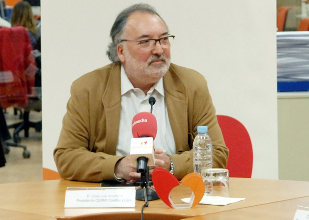 José Luis Alarzón, presidente del CERMI Castilla y León