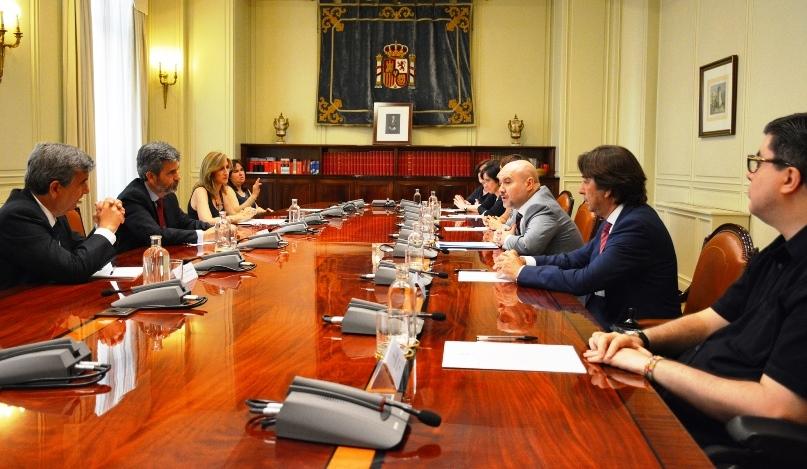 El CERMI repasa con Carlos Lesmes la agenda en materia de justicia y discapacidad