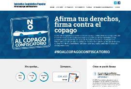 Contabilizadas casi 510.000 firmas en favor de la ILP contra el copago en dependencia