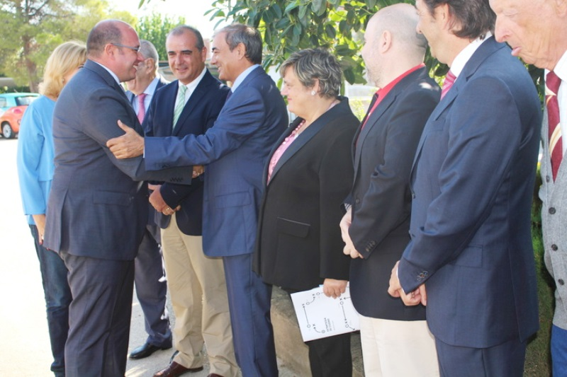 Encuentro del presidente de la Región de Murcia, Pedro Antonio Sánchez, con organizaciones sociales