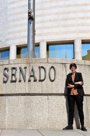 Pilar Lima, senadora