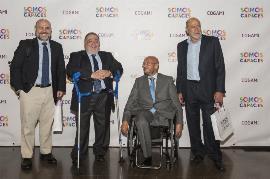 Momento del acto de celebración del 25 aniversario de Cogami en Santiago