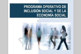 Detalle de la portada de Programa Operativo de Inclusión Social y Economía Social
