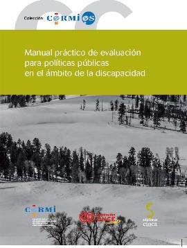 Portada del 'Manual práctico de evaluación para políticas públicas en el ámbito de la discapacidad'
