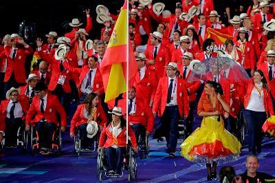 Ceremonia inaugural de los Juegos Paralímpicos de Londres 2012