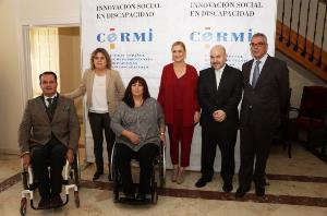 Foto de familia de la inauguración del XI Congreso de CERMIS Autonómicos