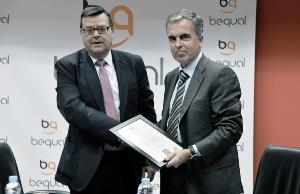 Corporación CLD recibe el Sello Bequal, que certifica su política de inclusión de la discapacidad