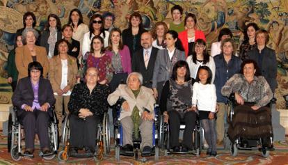 La princesa de Asturias recibe en audiencia a la Red de Mujeres con Discapacidad del CERMI. Imagen: © Casa de S.M. el Rey / Borja Fotógrafos