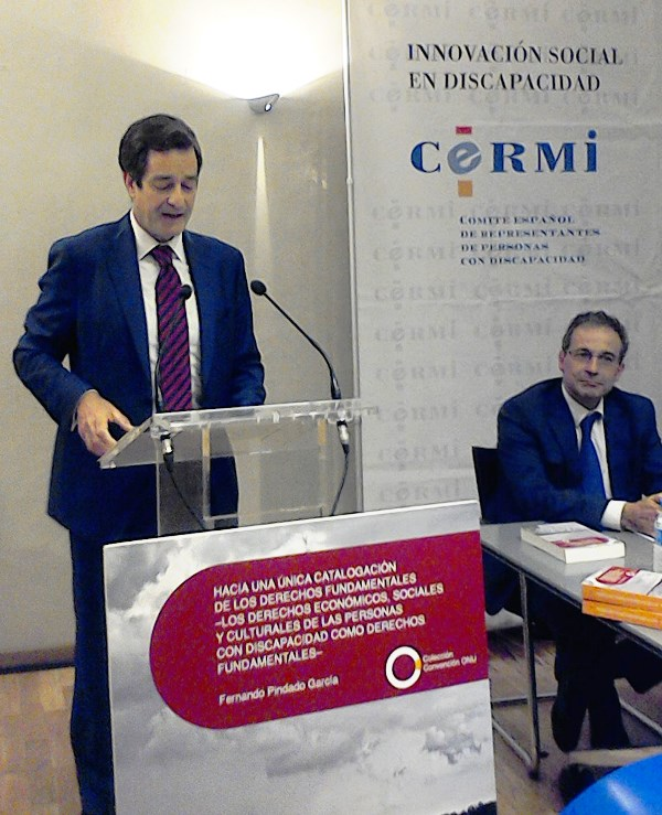 El CERMI entrega el V Premio Derechos Humanos y Discapacidad a Fernando Pindado