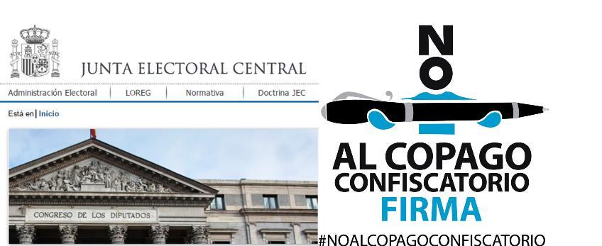 La Junta Electoral Central confirma que la ILP contra el Copago en Dependencia del CERMI ha superado las 500.000 firmas de apoyo