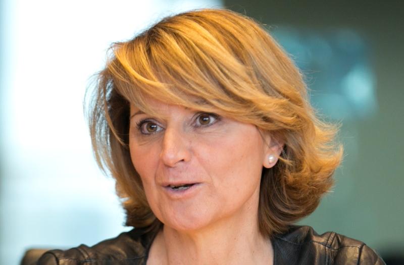 Rosa Estaràs, diputada del Parlamento Europeo en representación de España