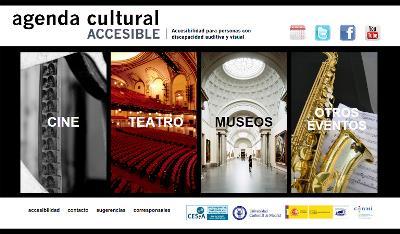 Imagen de la web de cultura accesible