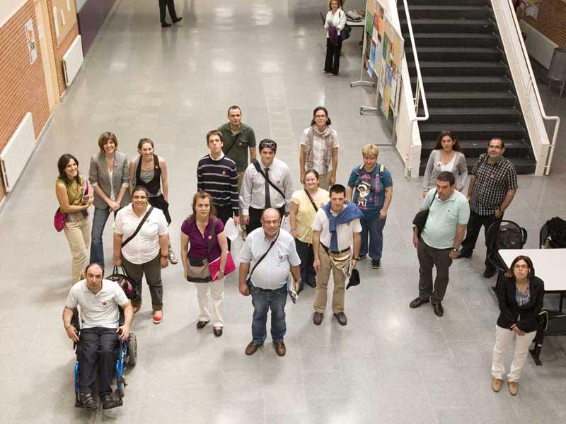 Imagen de grupo de los participantes en la formación de formadores de Feaps