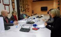 La Secretaria de Bienestar Social del PSOE, María Luisa Carcedo, en la sede del CERMI