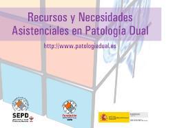 Detalle de la portada del 'Libro blanco sobre recursos para pacientes con patología dual en España'