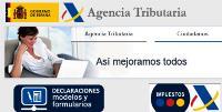 Imagen de la web de la Agencia Tributaria