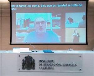 Intervención de Jorge Cardona, catedrático de Derecho Internacional Público de la Universidad de Valencia y miembro del Comité de los Derechos del Niño de Naciones Unidas