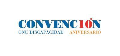 Logo del 10º aniversario de la Convención de la ONU sobre Discapacidad