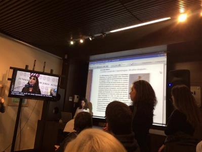 Presentación de la FCM en la sede del CERMI el 13 de marzo de 2015