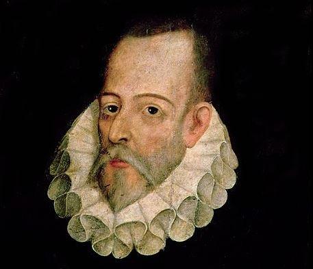 Retrato de Cervantes, óleo atribuido a Juan de Jáuregui