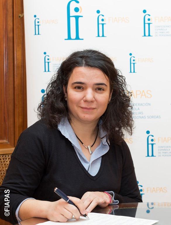 Sonia Zamora, presidenta de FEPEDA