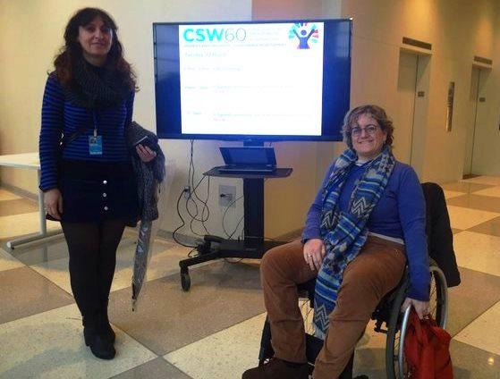 El CERMI visibiliza las demandas de las mujeres y niñas con discapacidad ante las Naciones Unidas en Nueva YORK