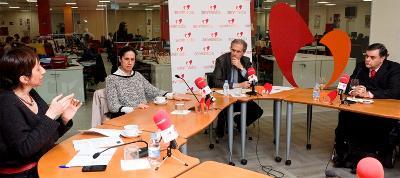 Imagen de un instante de la Mesa redonda 'Directiva europea de accesibilidad, ¿tarde y mal?'