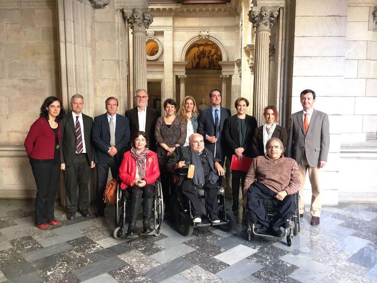 El sector catalán de la discapacidad pide que Barcelona sea líder en inclusión