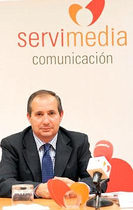 Santiago Villanueva, presidente del CERMI Aragón