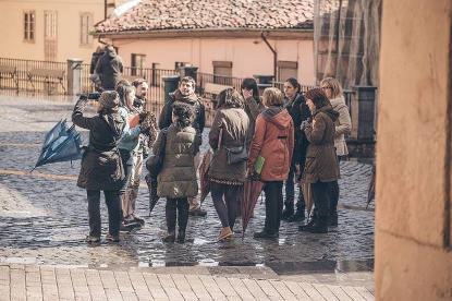 Safari Fotográfico realizado en Oviodo por 'Dexeneroconstrución' (Foto: Alba Sotelo)