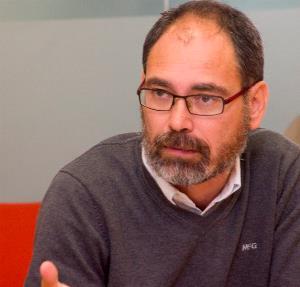 Alberto Montero, diputado de Podemos, presidente de la Comisión de Empleo y Seguridad Social del Congreso