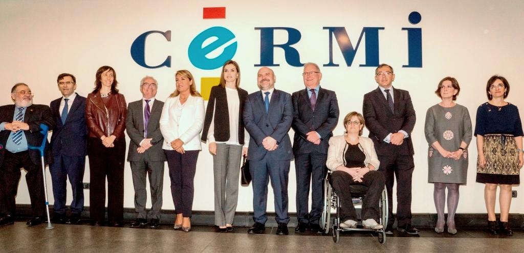 La Reina Letizia se reúne con el CERMI para conocer la labor de la entidad en favor de las personas con discapacidad