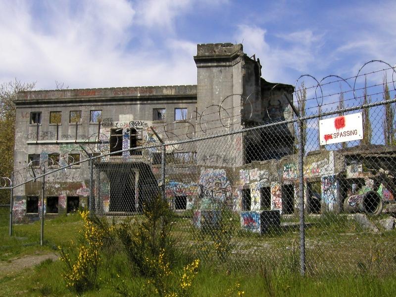 Hospital psiquiátrico abandonado