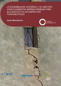 Portada del libro 'La accesibilidad universal y su gestión como elementos imprescindibles para el ejercicio de los derechos fundamentales'