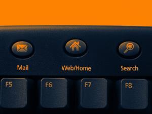 Imagen de un teclado de ordenador