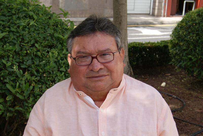 Salvador Morales, presidente de la Coordinadora de Personas con Discapacidad Física de Canarias