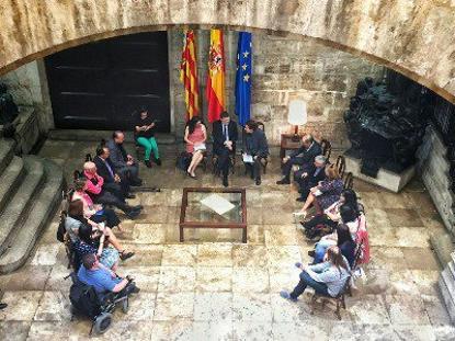 CERMI Comunidad Valenciana se reúne con el Presidente Ximo Puig y la Vicepresidenta Mónica Oltra