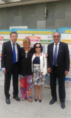 El presidente del CERMI Andalucía, en la entrega de los premios del Concurso Escolar de la ONCE y su Fundación