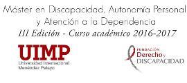 III edición del Máster en discapacidad, autonomía personal y dependencia de la UIMP