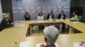 El CERMI Castilla y León se reúne con Ciudadanos el PSOE