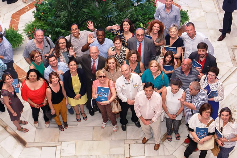 CERMI Andalucía asiste a la presentación de la Memoria de Actividades 2015 de la Fundación Cajasol