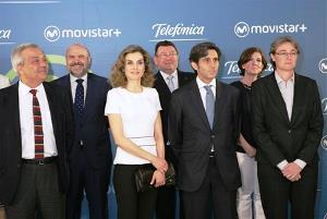 El CERMI, en el acto de presentación de Movistar 5S