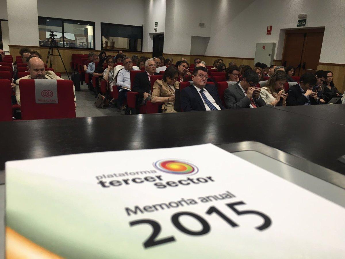 La Asamblea General de la Plataforma del Tercer Sector aprueba la memoria de actividades internas y externas