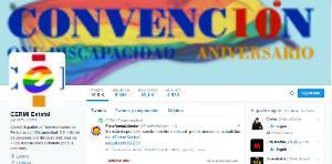 La cuenta oficial del CERMI en Twitter supera los 16.000 seguidores